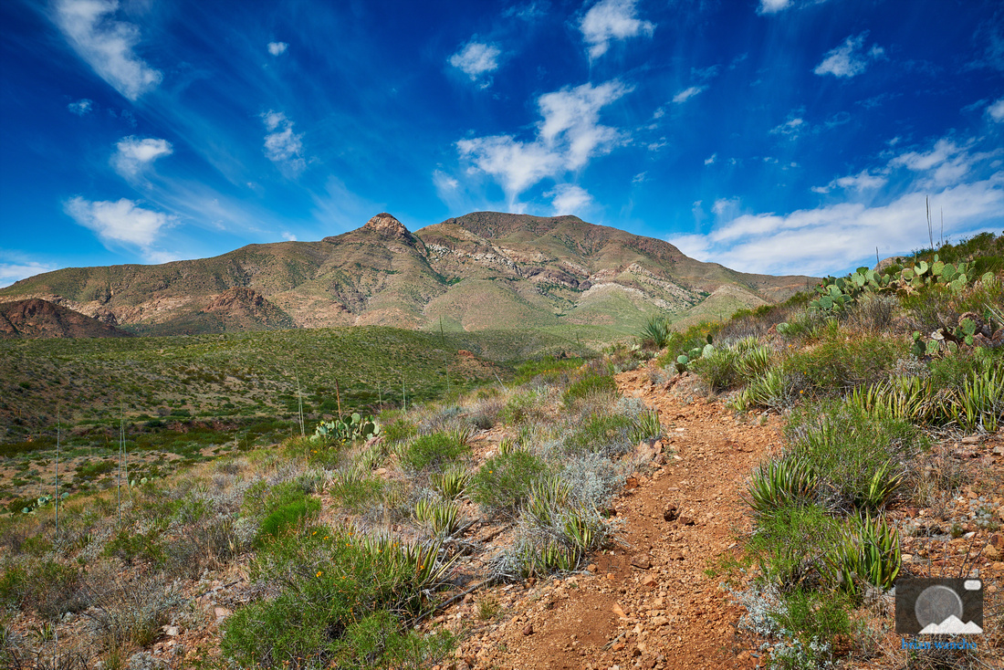 Franklin Mountains State Park Hiking Trail