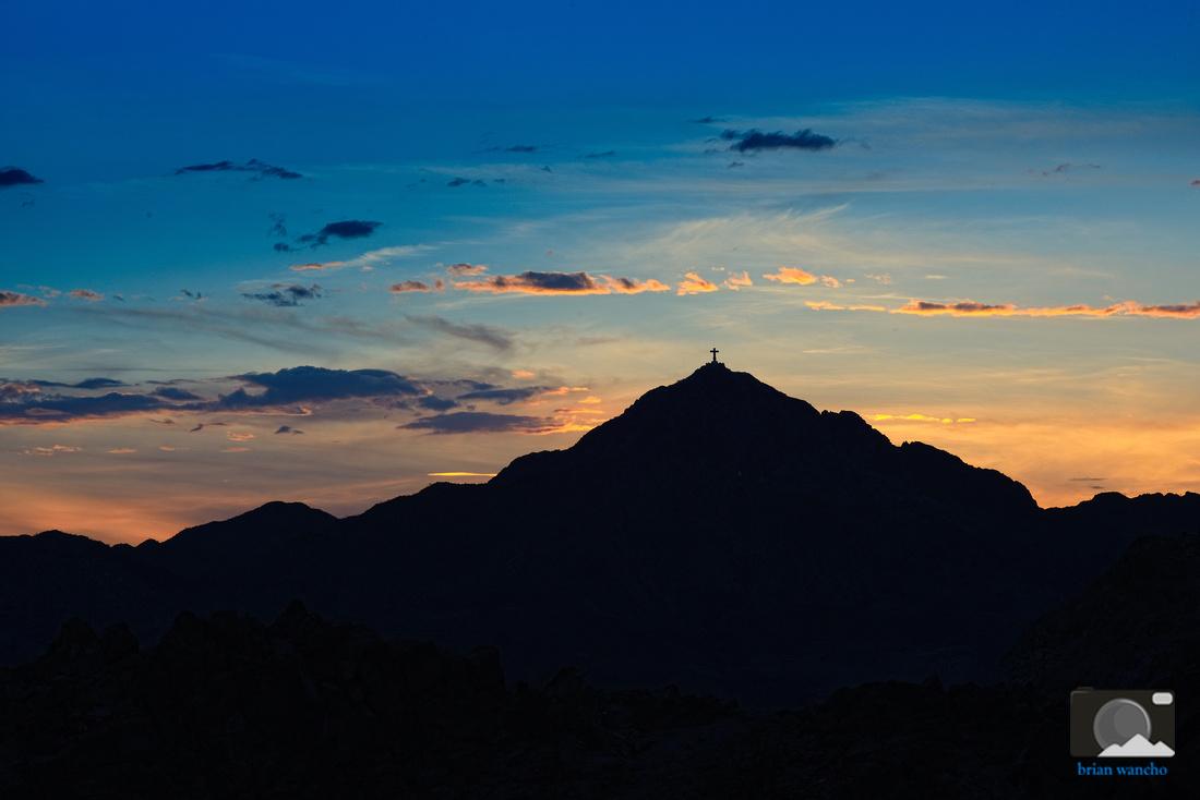 Mt. Cristo Rey in El Paso, Texas.