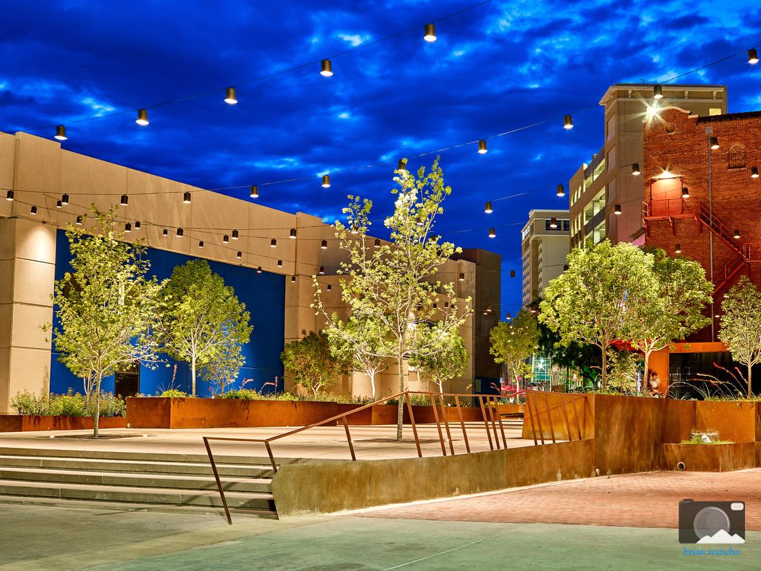 Arts Festival Plaza in Downtown El Paso