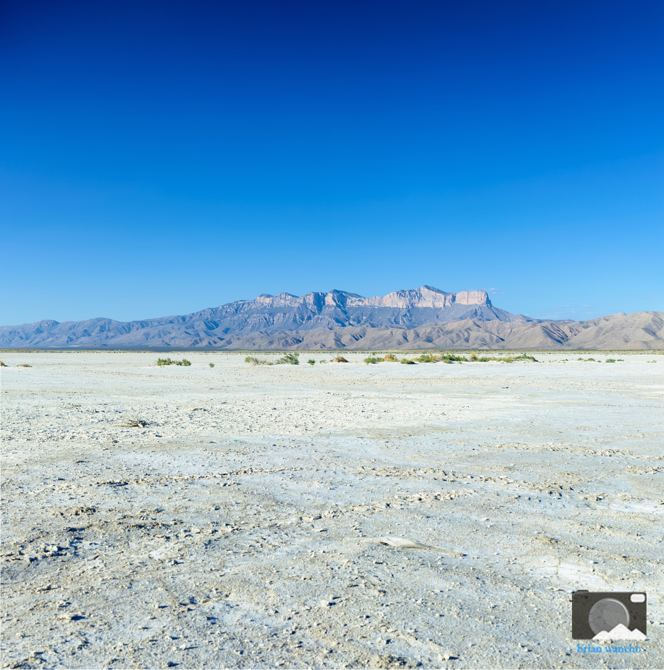 Salt Flat and Guadalupe Mountains