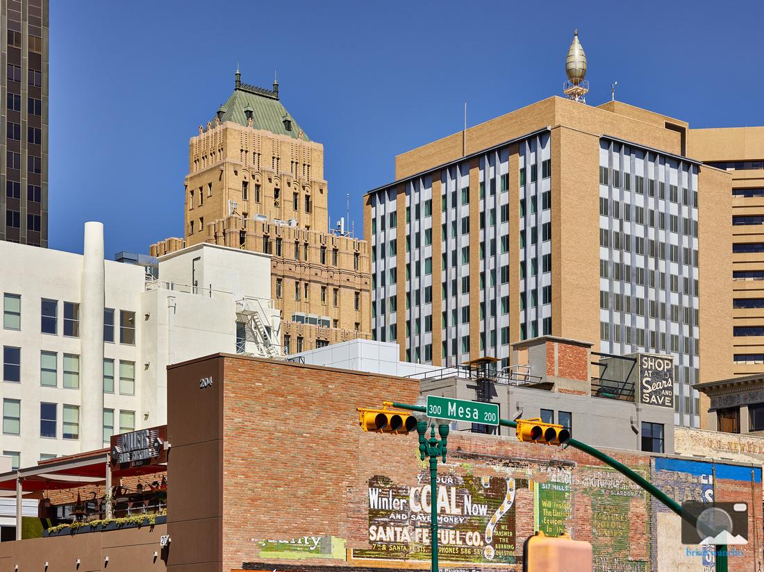Downtown El Paso Architecture